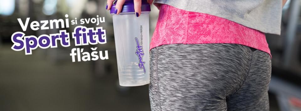 Vezmi si svoju Sport fitt fľašu